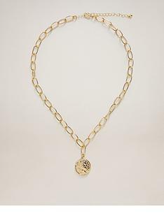 mango-coin-necklace-gold