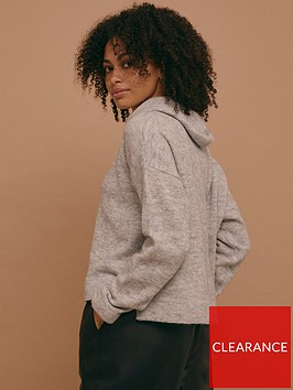 topshop-knitted-hoodie--nbspgreybr-nbsp