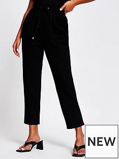 ri-petite-tie-waist-straight-leg-jogger-black