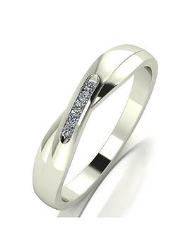 moissanite-9ct-white-gold-shaped-wedding-band