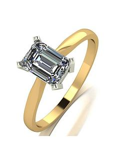 moissanite-9ct-yellow-gold-120ct-equivalent-emerald-cut-solitaire-ring