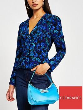 river-island-floral-wrap-blouse-blue
