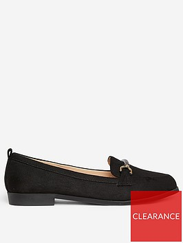 dorothy-perkins-wide-fit-loon-snaffle-loafers-black