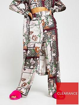 river-island-printed-soft-wide-leg-trouser-pink