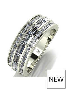 moissanite-9ct-white-gold-band-ring