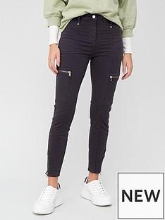 v-by-very-zip-detail-biker-skinny-jeans-grey