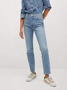 mango-skinny-fit-cropped-jeans-blue