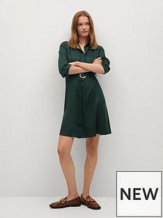 mango-wrap-dress-green