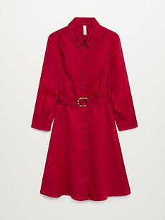 mango-wrap-dress-red