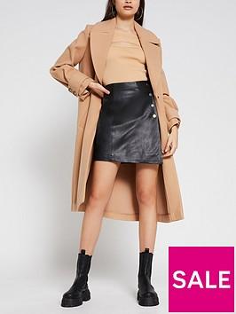river-island-leather-a-line-skirt-black