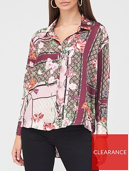 river-island-printed-oversized-stepped-hem-shirt-pink
