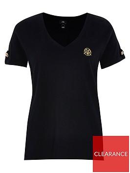 river-island-v-neck-button-shoulder-t-shirtnbsp--black