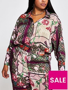 ri-plus-ri-plus-oversized-stepped-hem-printed-shirt-pink