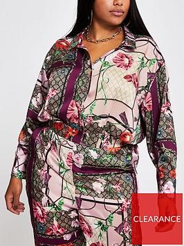 ri-plus-ri-plus-oversized-stepped-hem-printed-shirt-pink