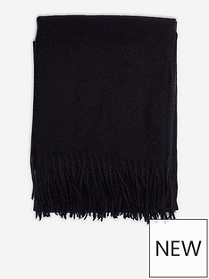 dorothy-perkins-plainnbspscarf-blacknbsp