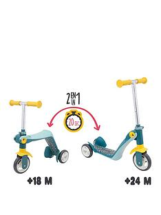 smoby-reversible-2-in-1-scooter-grey