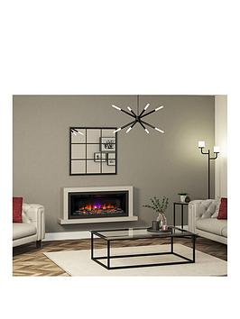 Be Modern Elyce Grande Wall Mounted Electric Fireplace