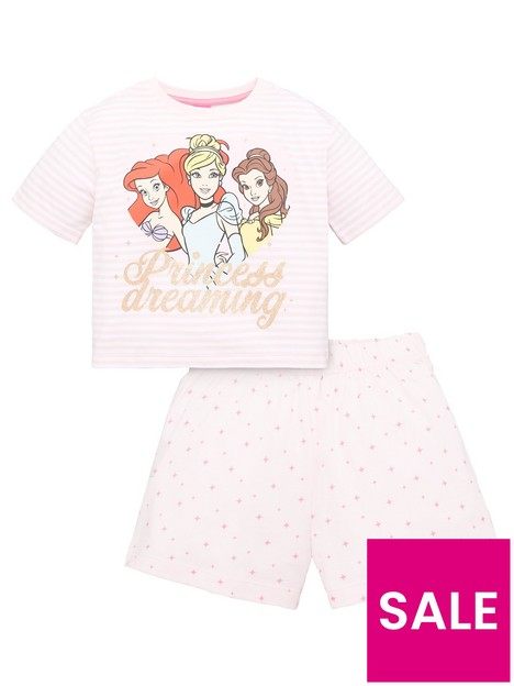 disney-princess-girls-disney-princess-stripe-princess-dreaming-shorty-pjs-pink
