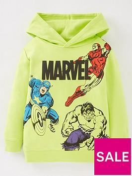 marvel-boys-marvelnbspavengers-neon-overheadnbsphoodie-green