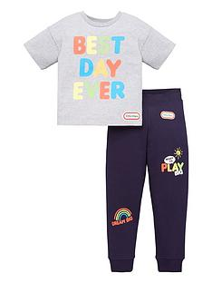 little-tikes-boys-little-tikes-2-piece-best-day-ever-t-shirt-and-jogger-set-multi