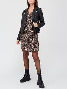 v-by-very-notch-neck-long-sleeve-dress-leopard