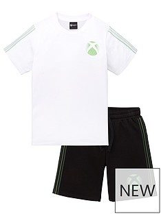 character-boys-xboxnbsp2-piece-t-shirt-amp-sweat-short-set-white