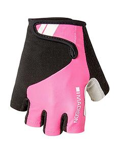 madison-cycling-keirin-womens-mitts-pink-glow