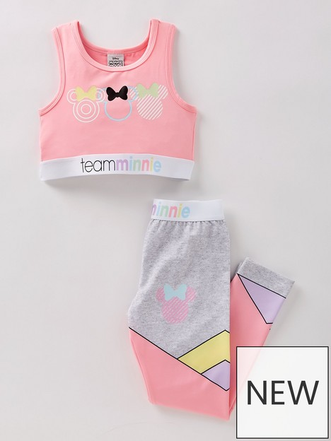 minnie-mouse-girls-disney-minnie-mouse-2-piece-crop-top-and-legging-active-set-pink