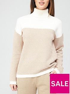 v-by-very-cheveron-roll-neck-knitted-jumper--nbspcolourblocknbsp