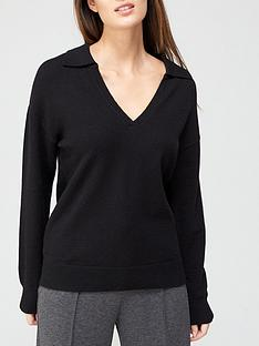 v-by-very-relaxed-fit-polo-knitted-top