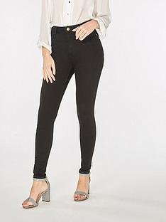 dorothy-perkins-regular-length-shape-and-lift-jeans-blacknbsp