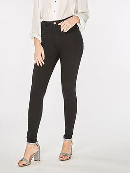 dorothy-perkins-shortnbsplength-shape-and-lift-jeans-black
