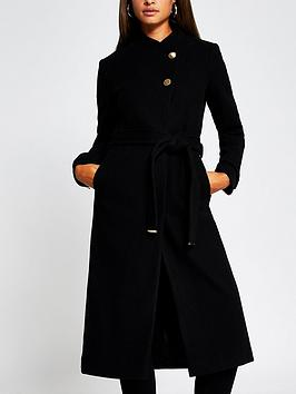 river-island-single-breasted-smart-coat-black