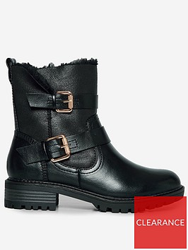 dorothy-perkins-wide-fit-arubanbspbuckle-biker-bootsnbsp--black