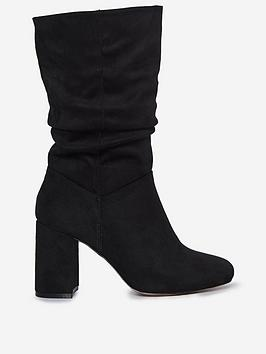 dorothy-perkins-wide-fit-kinder-34-block-heel-bootsnbsp--black
