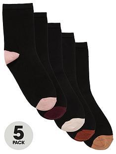 v-by-very-value-5-pack-ankle-socks-black