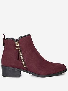 dorothy-perkins-macro-side-zip-ankle-boots-burgundy