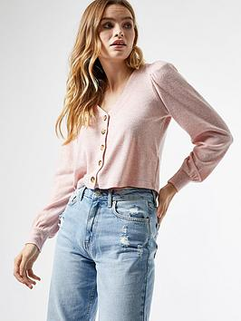 dorothy-perkins-longnbspsleeve-brushed-cardigan-pink
