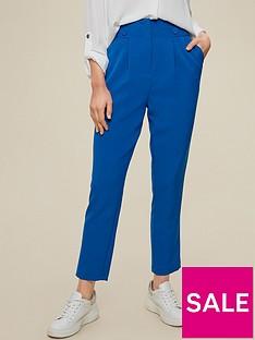 dorothy-perkins-high-waist-button-detail-trousers--nbspcobalt