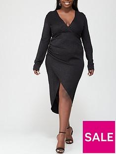 ax-paris-curve-wrap-maxi-dress-black