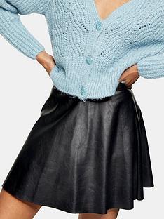 topshop-faux-leather-pu-flippy-mini-skirt--nbspblack