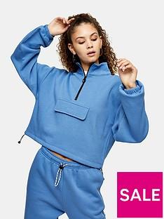 topshop-utility-pocket-funnel-neck-sweatshirt-blue
