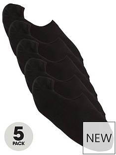 v-by-very-value-5-pack-footsies-black