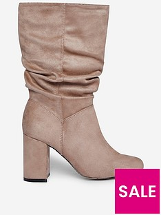 dorothy-perkins-wide-fit-kinder-34-block-heel-bootsnbsp--taupe