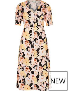 ri-petite-printed-button-down-midi-dress-print
