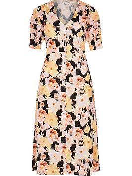 ri-petite-printed-button-down-midi-dress-print