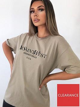 ax-paris-saint-west-slogan-t-shirt-stone