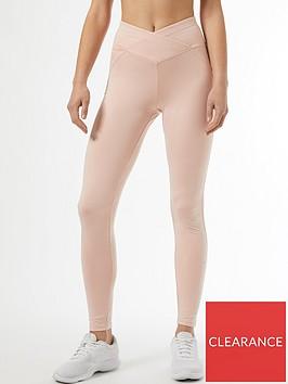 dorothy-perkins-ruch-side-leggings-blush