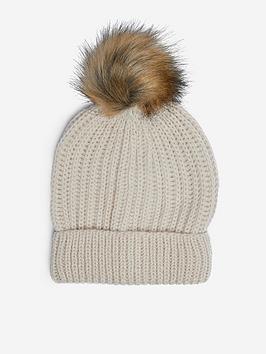 dorothy-perkins-pom-pom-hat--nbspoatmeal