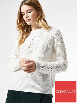 dorothy-perkins-sustainable-pontelle-cable-jumper-ivorynbsp